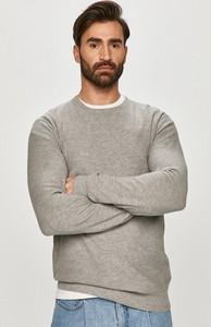 Sweter Wrangler z bawełny w stylu casual z okrągłym dekoltem