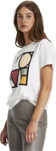 T-shirt Soaked in Luxury z okrągłym dekoltem w młodzieżowym stylu z krótkim rękawem
