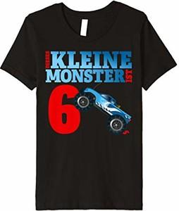 Koszulka dziecięca Monstertruck Geburtstags T-shirt: Jungen Geschenk z krótkim rękawem