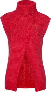 Czerwona kamizelka bonprix bpc selection