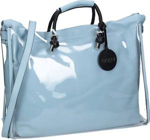 Niebieska torebka NOBO w wakacyjnym stylu na ramię duża