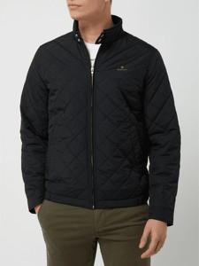 Czarna kurtka Gant w stylu casual krótka