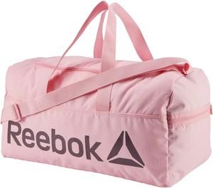 Różowa torba sportowa Reebok