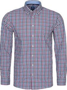 Koszula Redmond z bawełny z kołnierzykiem button down w stylu casual