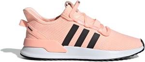 Różowe buty sportowe Adidas Originals sznurowane