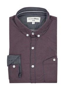 Koszula Tom Tailor Denim z długim rękawem z kołnierzykiem button down