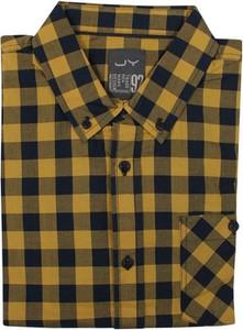 Koszula Just yuppi z tkaniny z długim rękawem