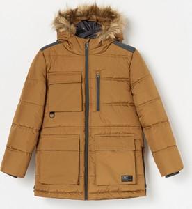 Brązowa kurtka dziecięca Reserved