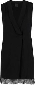 Sukienka Pinko bez rękawów z dekoltem w kształcie litery v