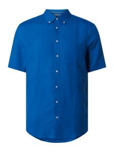 Niebieska koszula Christian Berg Men z klasycznym kołnierzykiem