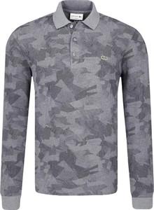 Koszulka polo Lacoste w militarnym stylu