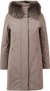 Brązowy płaszcz Rrd w stylu casual
