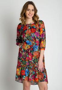 Sukienka Bialcon z długim rękawem mini