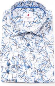 Koszula Giolucci z długim rękawem z lnu