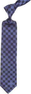 Niebieski krawat Gianni Versace