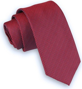 Czerwony krawat Angelo Di Monti
