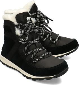 Buty zimowe Sorel z zamszu