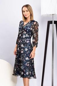 Sukienka Semper w stylu casual z dekoltem w kształcie litery v