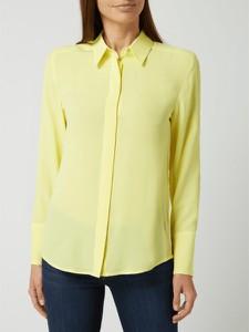 Żółta bluzka Joseph Janard w stylu casual z jedwabiu
