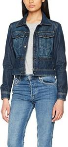 Niebieska kurtka amazon.de w street stylu z jeansu