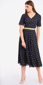 Granatowa sukienka POTIS & VERSO