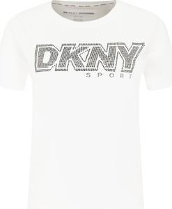 T-shirt DKNY z krótkim rękawem