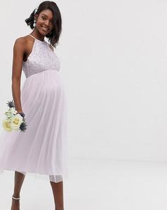 Sukienka Maya Maternity z tiulu