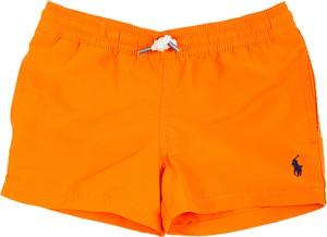 Pomarańczowe kąpielówki Ralph Lauren