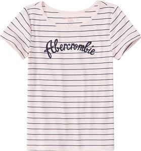 Bluzka dziecięca Abercrombie & Fitch z dżerseju
