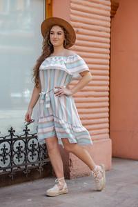 Sukienka 2mline hiszpanka
