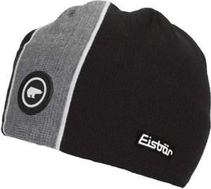 Czarna czapka Eisbär
