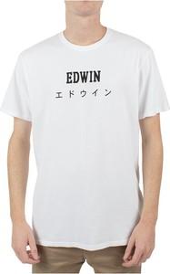 T-shirt Edwin z krótkim rękawem w młodzieżowym stylu