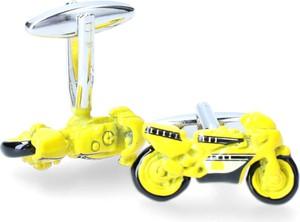 Dobrze Dodane spinka żółty ścigacz
