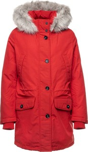 Czerwona kurtka Tommy Hilfiger w stylu casual