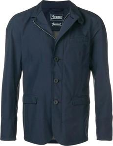 Niebieska kurtka Herno w stylu casual