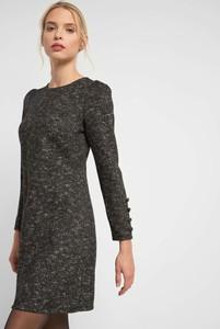 Czarna sukienka ORSAY mini z tkaniny