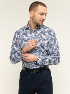 Granatowa koszula Tommy Hilfiger