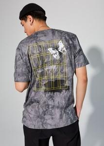 T-shirt LOCAL HEROES z krótkim rękawem w młodzieżowym stylu