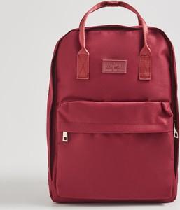 Czerwony plecak Sinsay