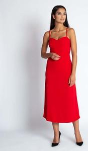 Sukienka Dursi z dekoltem w kształcie litery v
