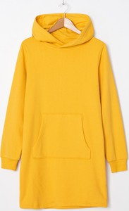 Żółta sukienka House mini