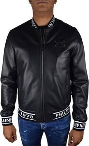 Czarna kurtka Philipp Plein