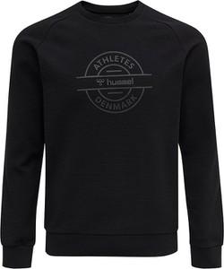 Czarna bluza Hummel z nadrukiem