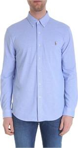 Niebieska koszulka z długim rękawem POLO RALPH LAUREN