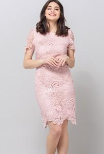 Sukienka Monnari z krótkim rękawem