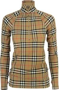 Bluzka Burberry w stylu casual z dżerseju