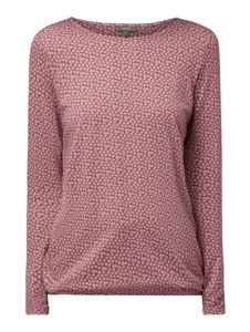 Różowa bluzka Montego w stylu casual