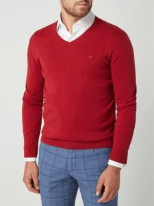 Czerwony sweter Tom Tailor