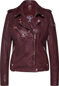 Czerwona kurtka Gipsy w rockowym stylu