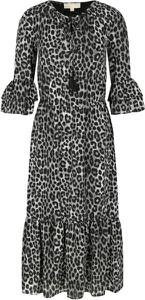 Sukienka Michael Kors maxi z długim rękawem